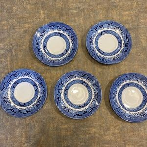 Lot of 5 Churchill England Small Plates
